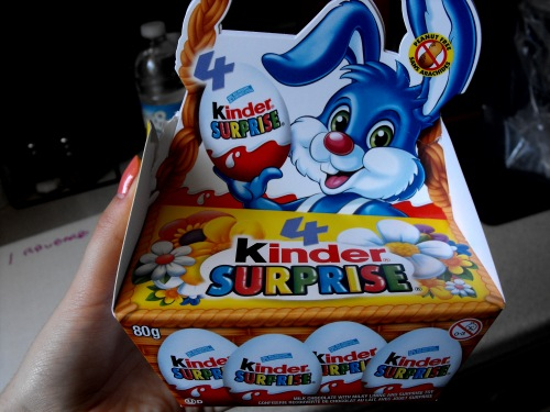Kinder eggs are my favorite!!