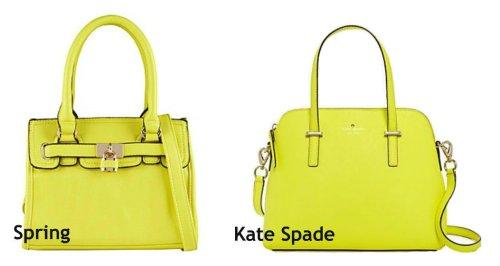 Spring vs Kate Spade